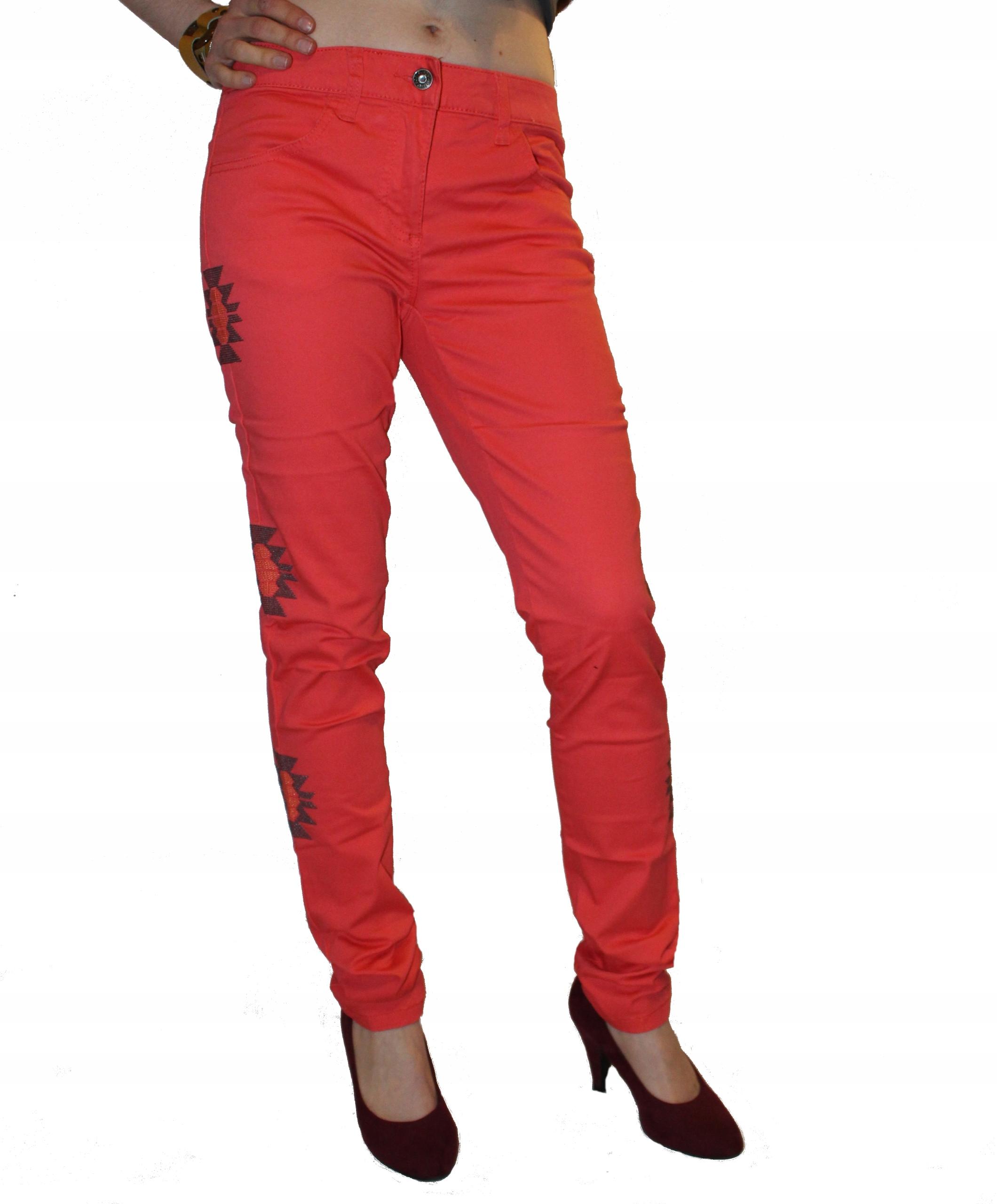 Body Flirt Slim nowe śliczne spodnie bawełna S / M