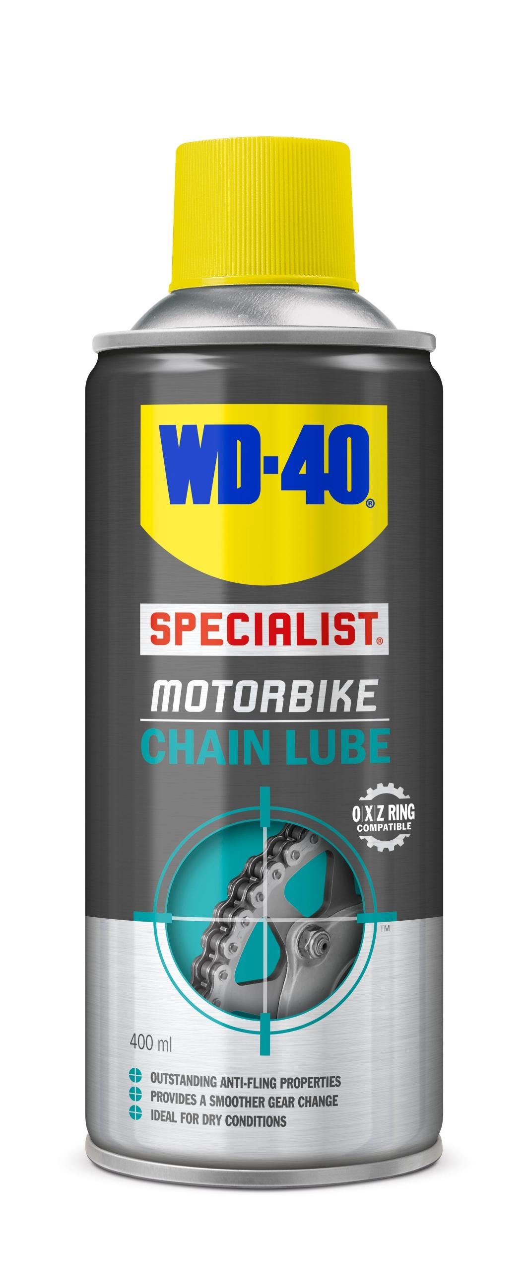 WD-40 Smar do łańcuchów motocyklowych 400ml