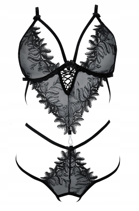 HELIKE czarne body - roz.XS - ANAIS 48H