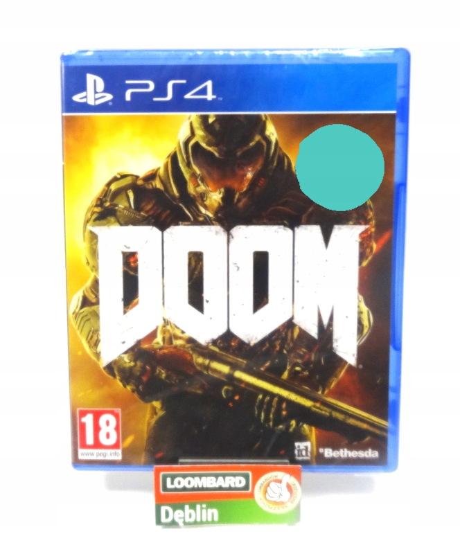 GRA NA PS4 DOOM