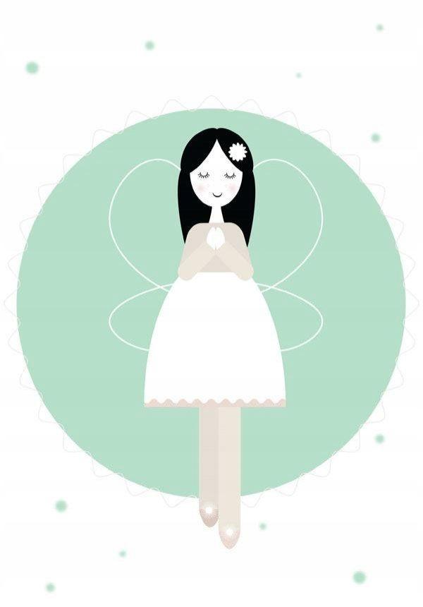Anioł Wanda miętowy - plakat