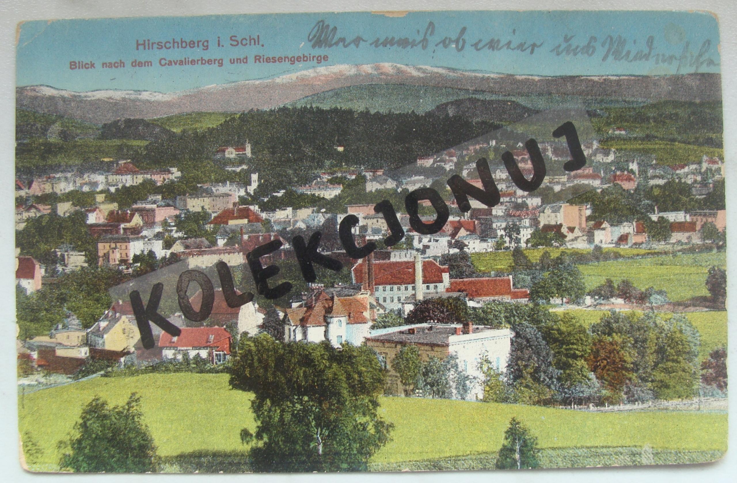 P104. Hirschberg - Jelenia Góra 1914