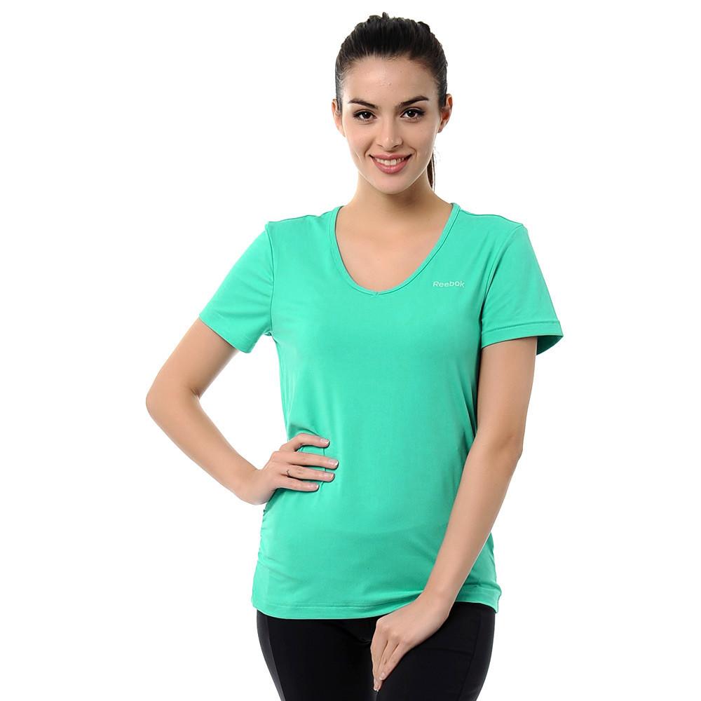 Koszulka Reebok Vneck damska termoaktywna S