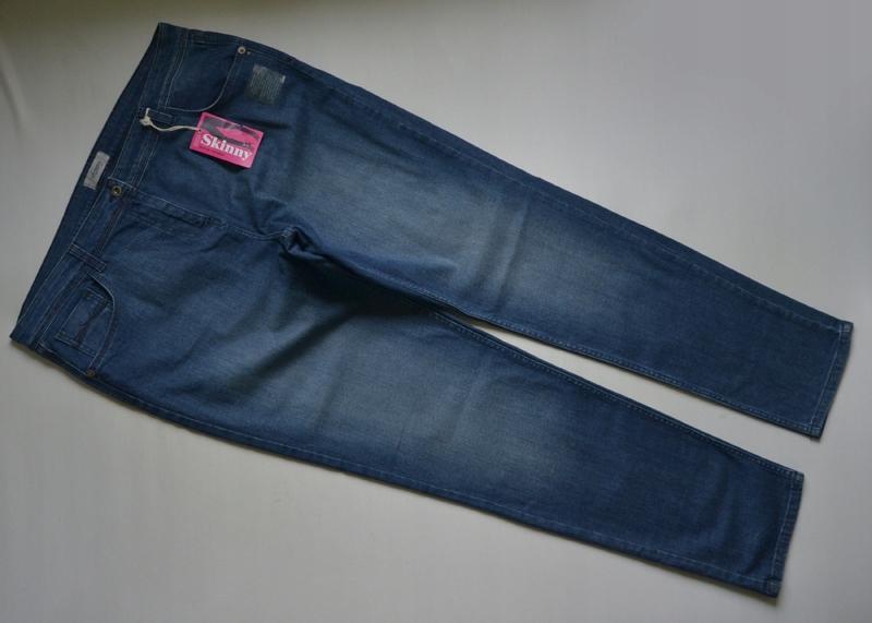 Spodnie jeansowe rurki nowe M&S 48/50 long