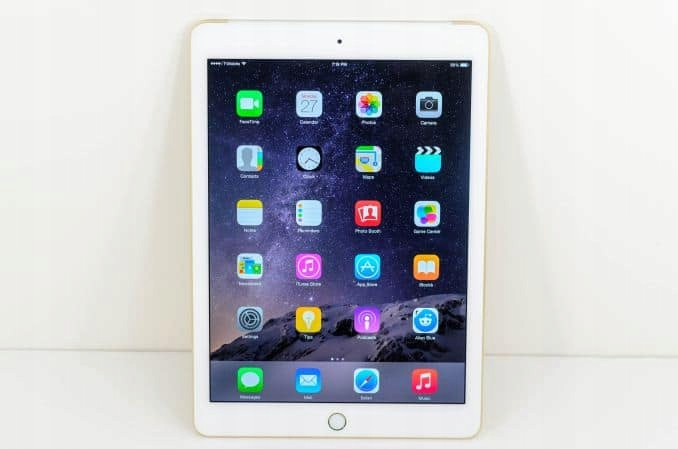 Tablet Apple iPad Wi-Fi 128GB; złoty