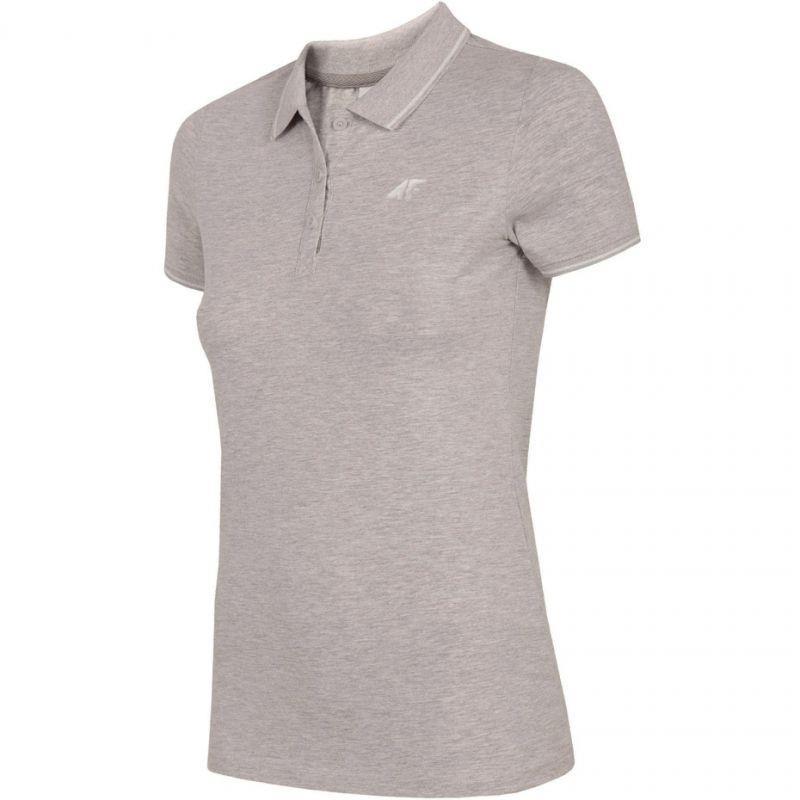 Koszulka 4F W H4L19-TSD013 27M szary melanż M