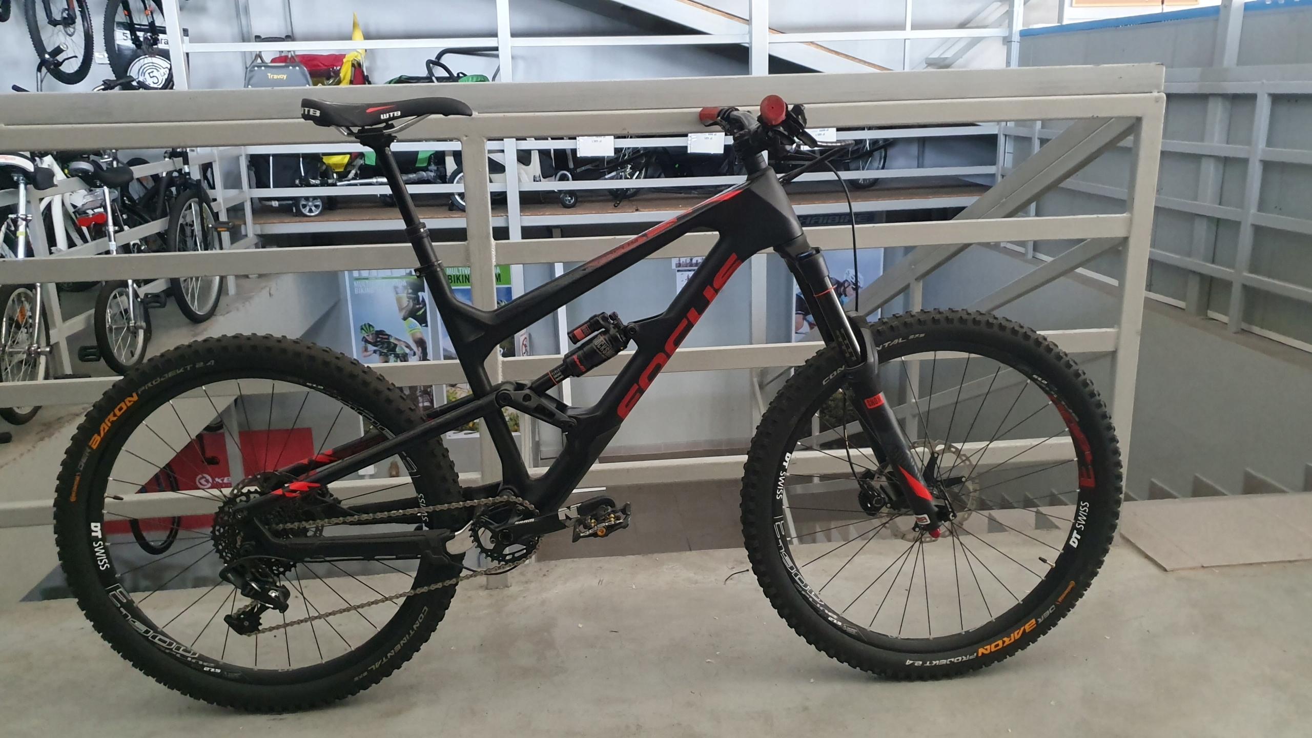 rower enduro Focus Sam C SL z 16999 zł