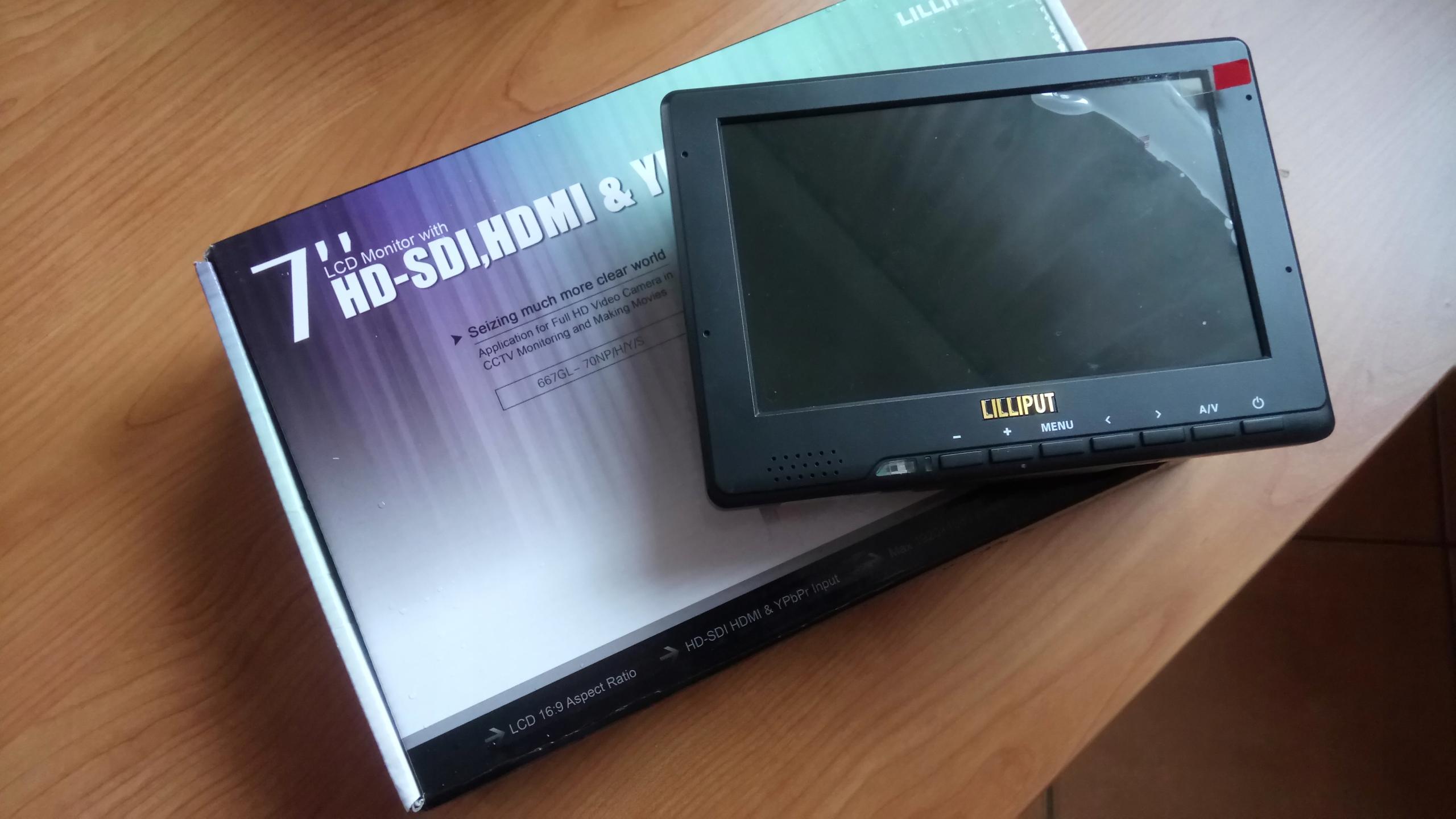 Monitor podglądowy Lilliput 667-GL