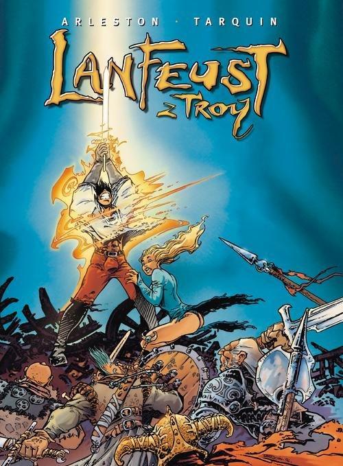 LANFEUST Z TROY 1 tomy 1-4 komiks twardy EGMONT