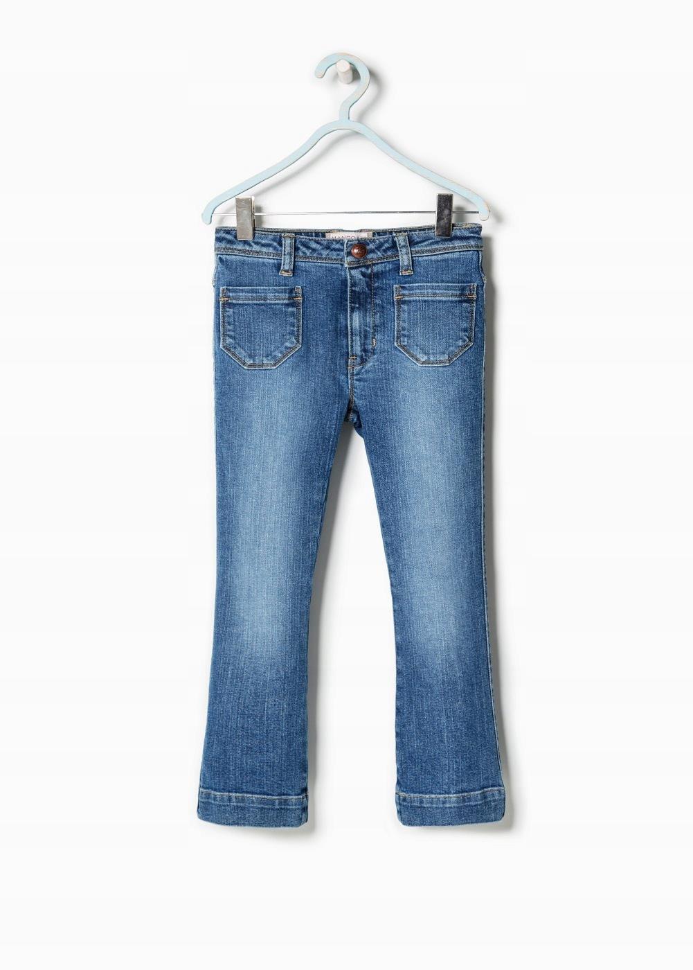 Mango jeansy nowe bez metki 152