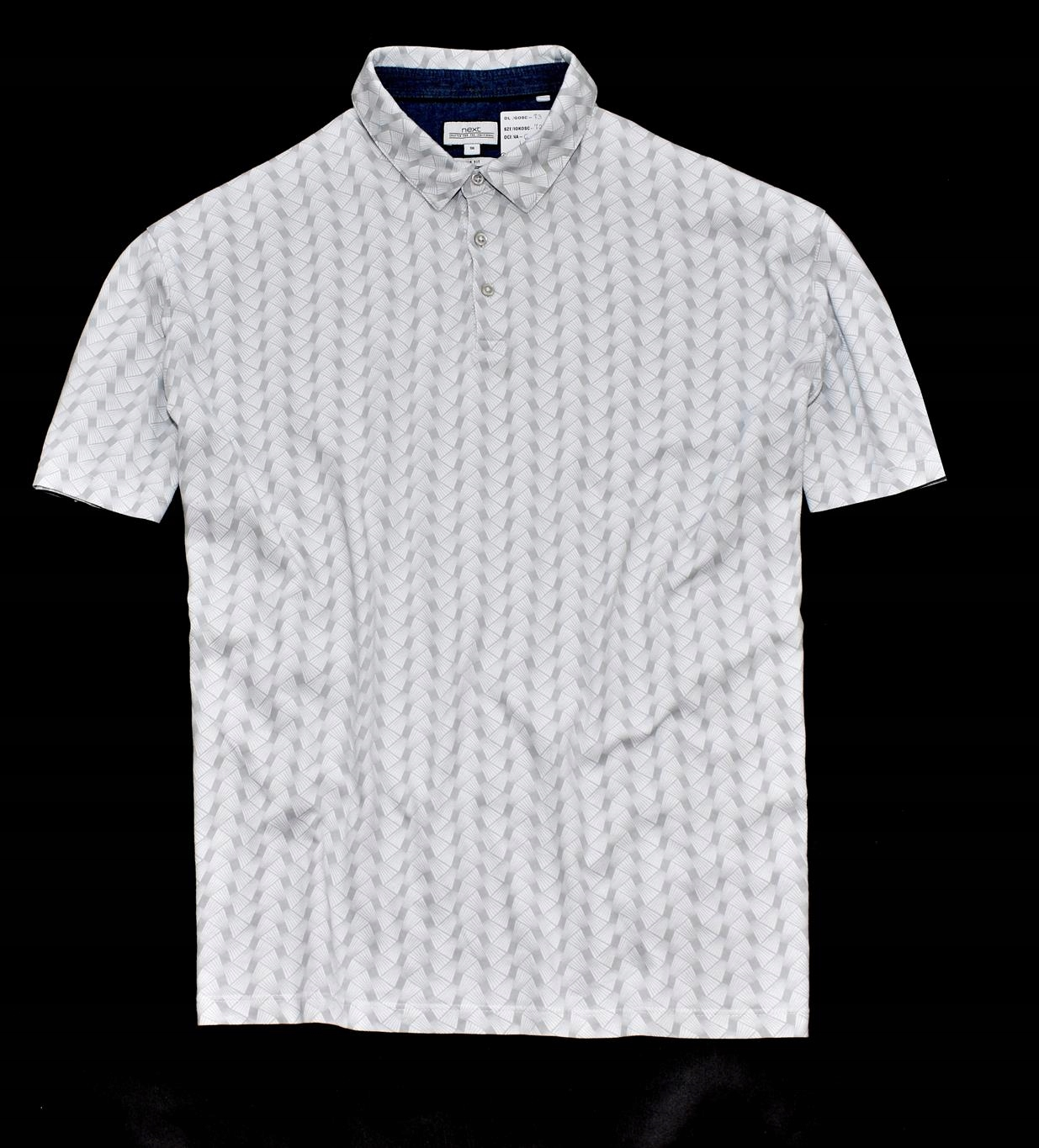 MM 98 NEXT_TRENDY SLIM FIT OVERPRINT POLO_3XL