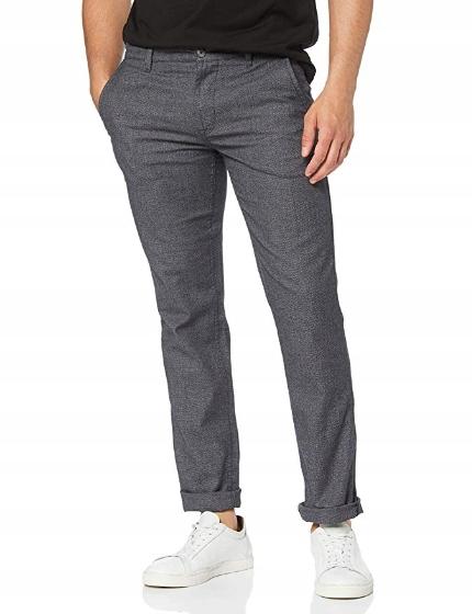 Boss spodnie męskie szare Schino-Slim W32 L32