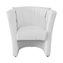 Fotel BARON 2 75x67x83 cm biały wypoczynek salon f