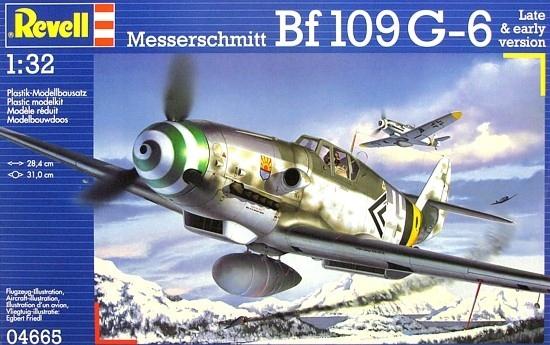 Messerschmitt Bf109 G-6 Late & early version