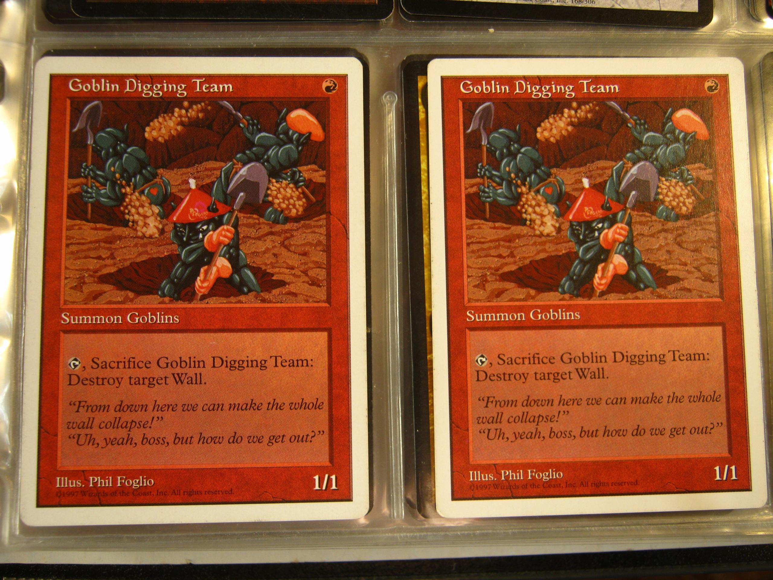 Goblin Digging Team 2x UNIKAT 1997r.