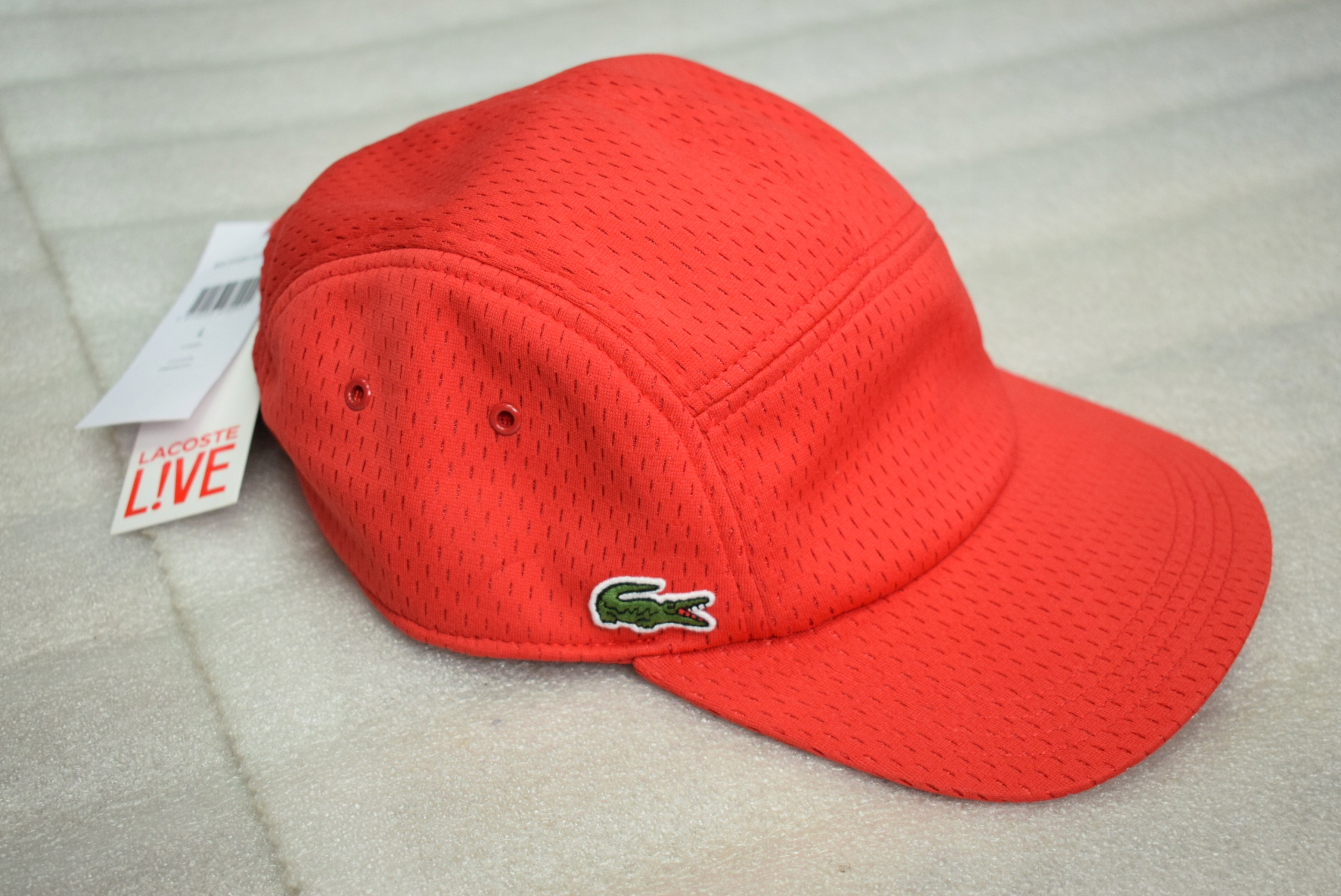 LACOSTE L!VE CAP L NEW