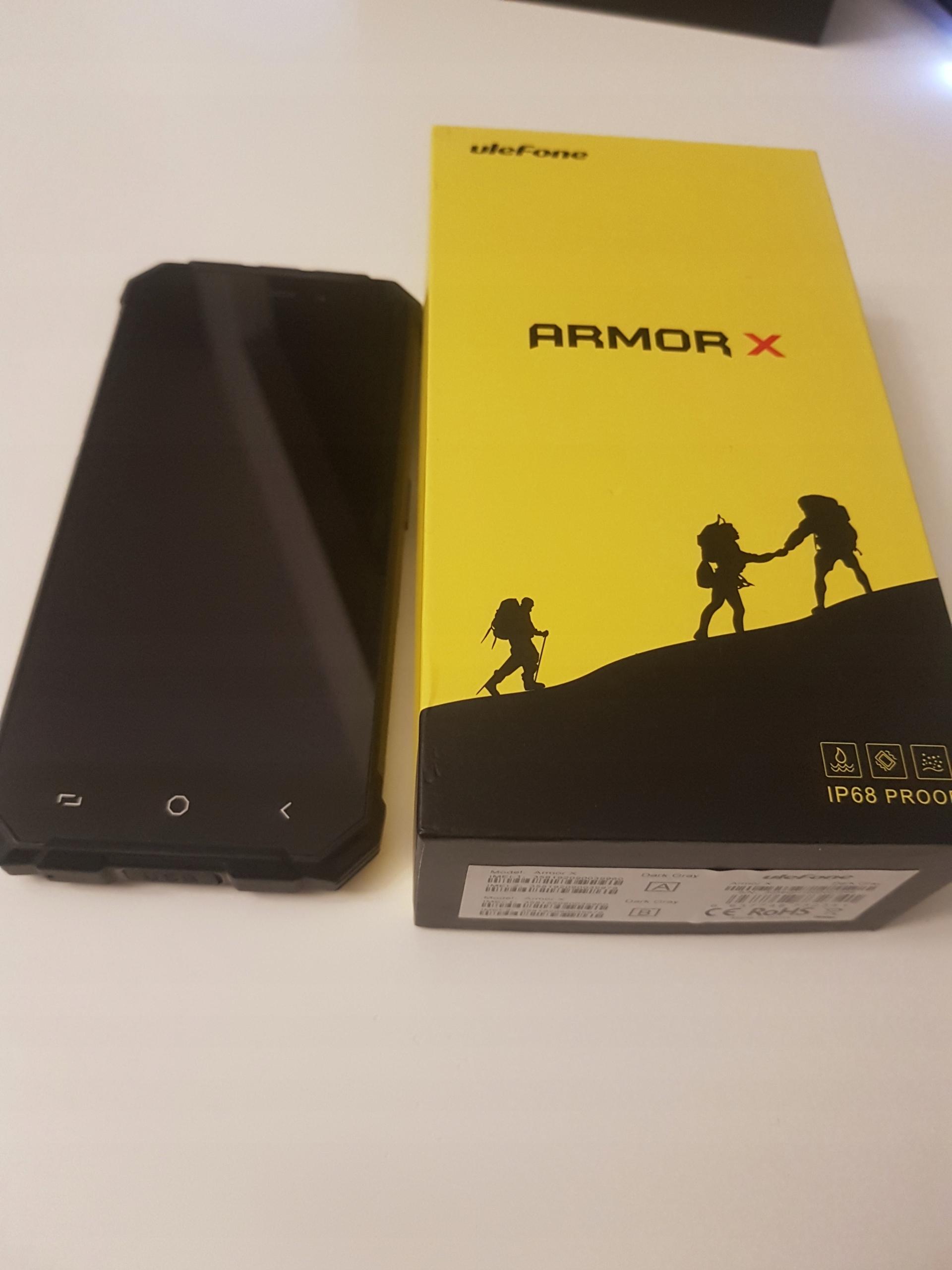 Ulefone Armor X + ładowarka indukcyjna FV23% dysPL