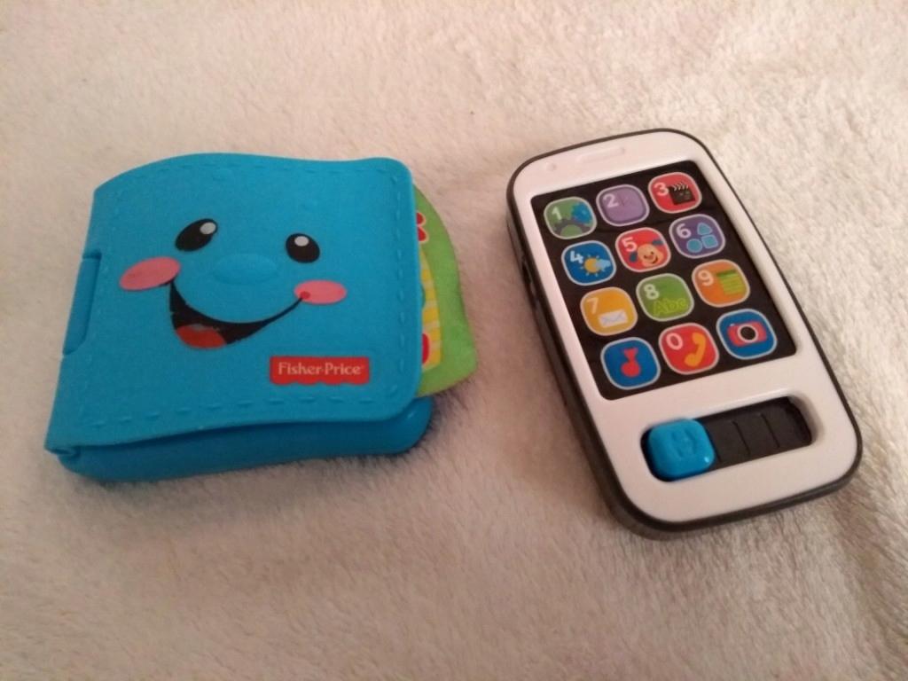 Smartfon i portfel Fischer Price