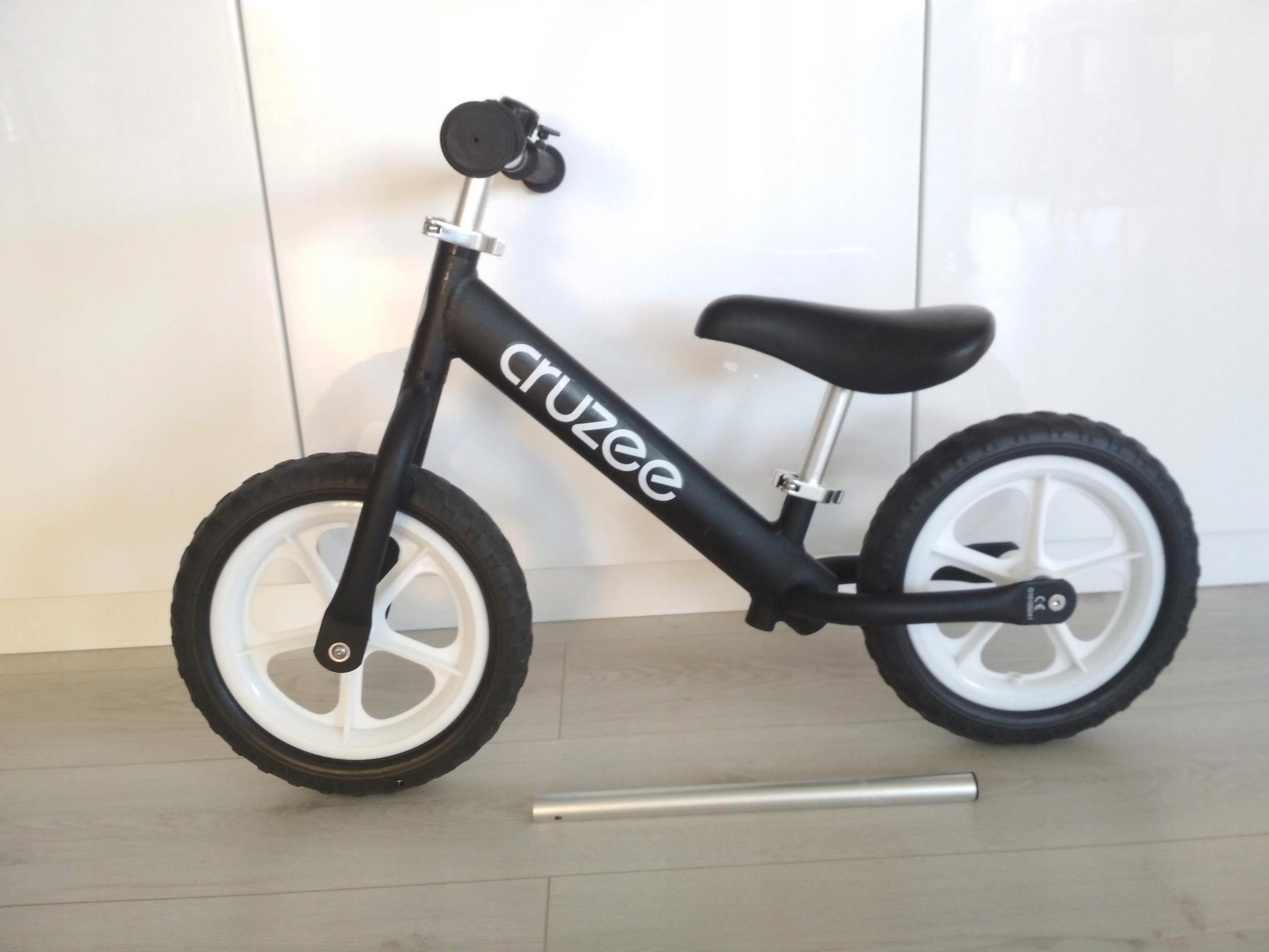 Rower rowerek biegowy 12 cruzee lekki 1,9kg