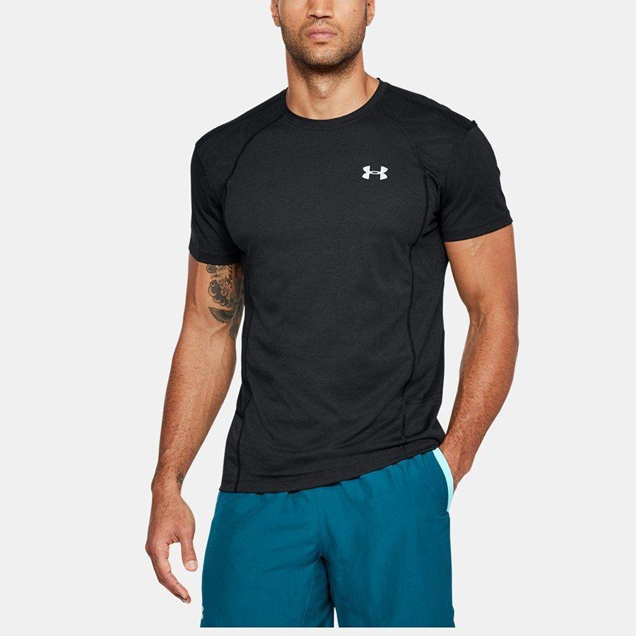 Koszulka Męska do biegania UA Swift SS Tee czarn L