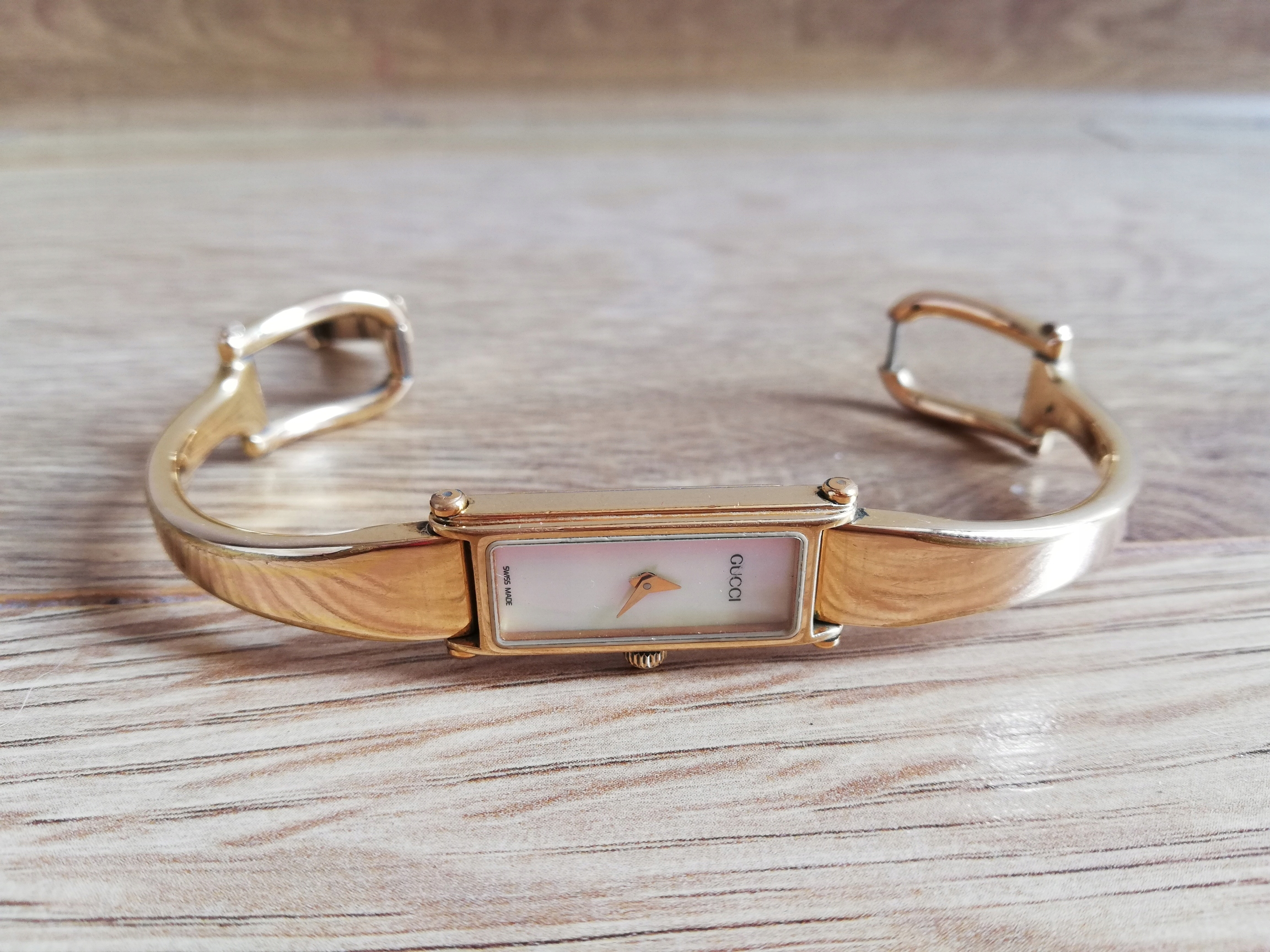 Zegarek Gucci oryginalny 1500 pozłacany