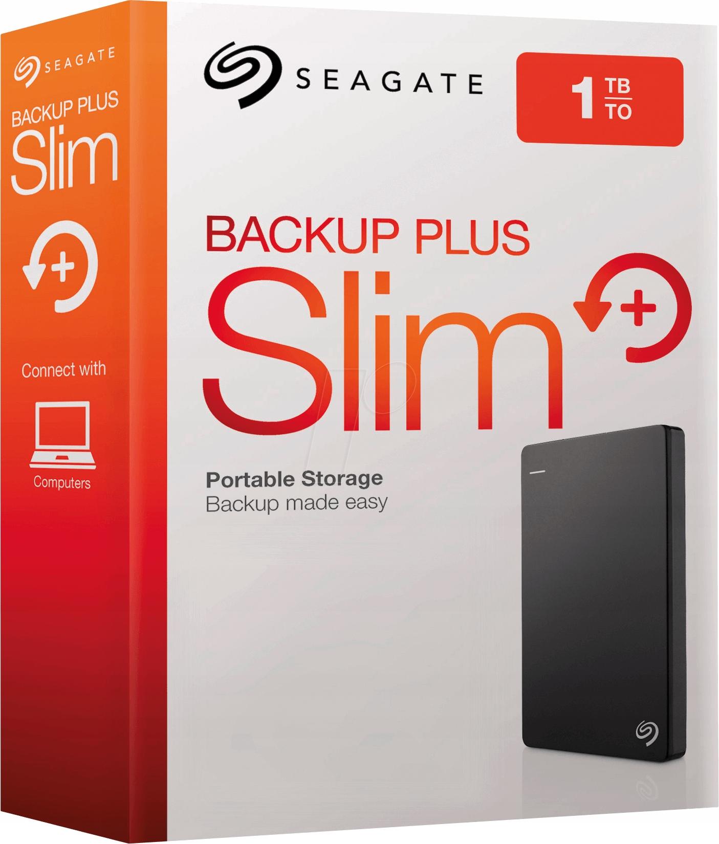 SEAGATE Backup Plus USB 3.0 1TB STDR1000200 black