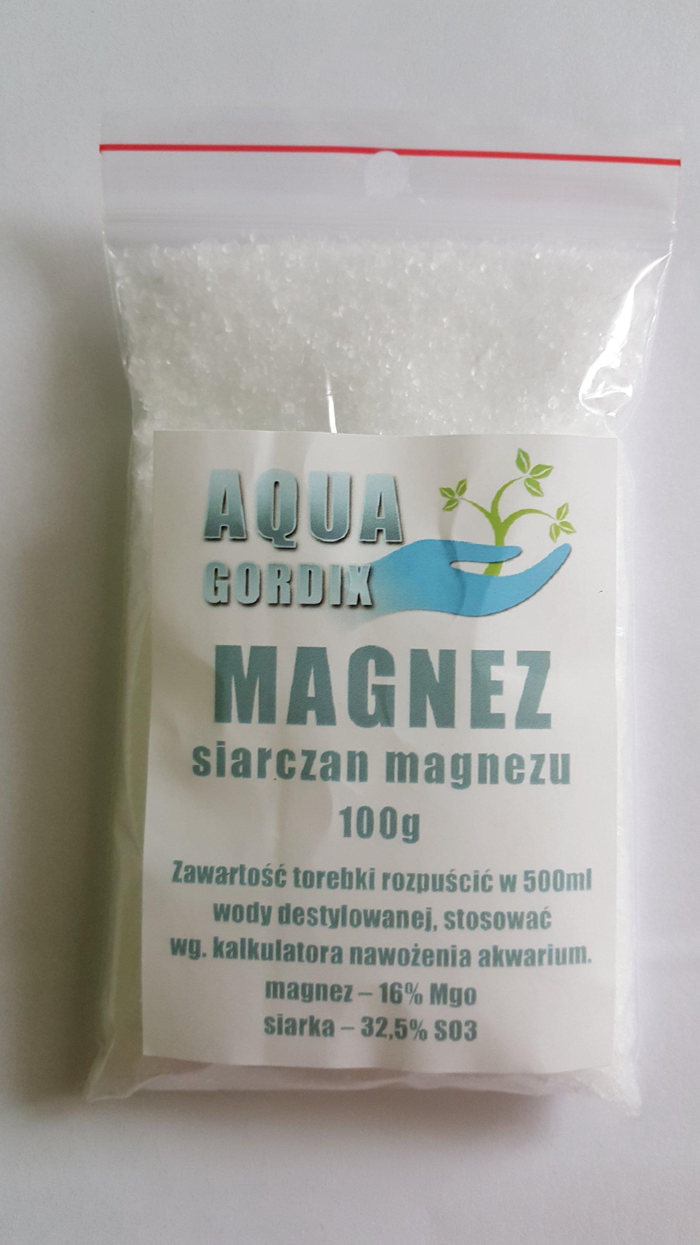 MAGNEZ - SIARCZAN MAGNEZU 100g MgSO4 - AKWARYSTYKA