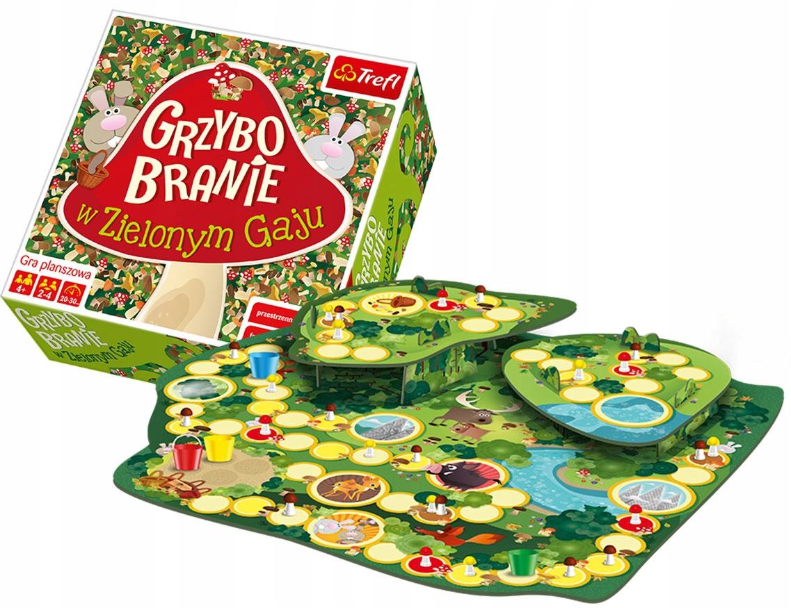 Trefl Gra Grzybobranie w Zielonym Gaju 00988