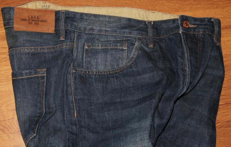 H$M spodnie męskie jeans 34/30 36/30 L pas 97 cm