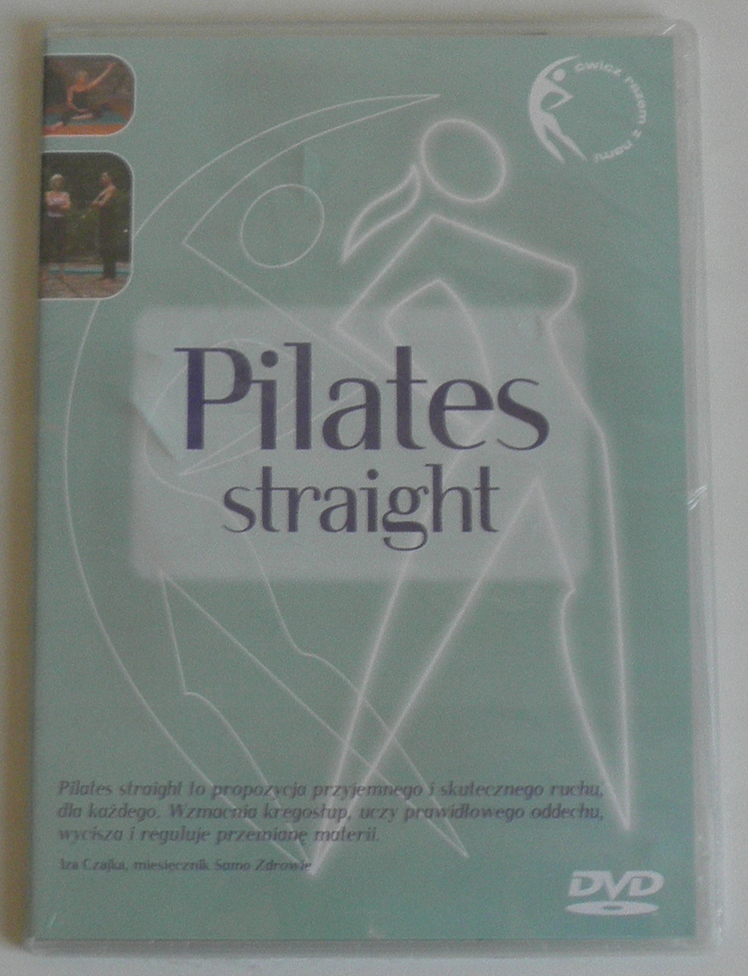 DVD PILATES STRAIGHT NOWA FOLIA LEKTOR PL