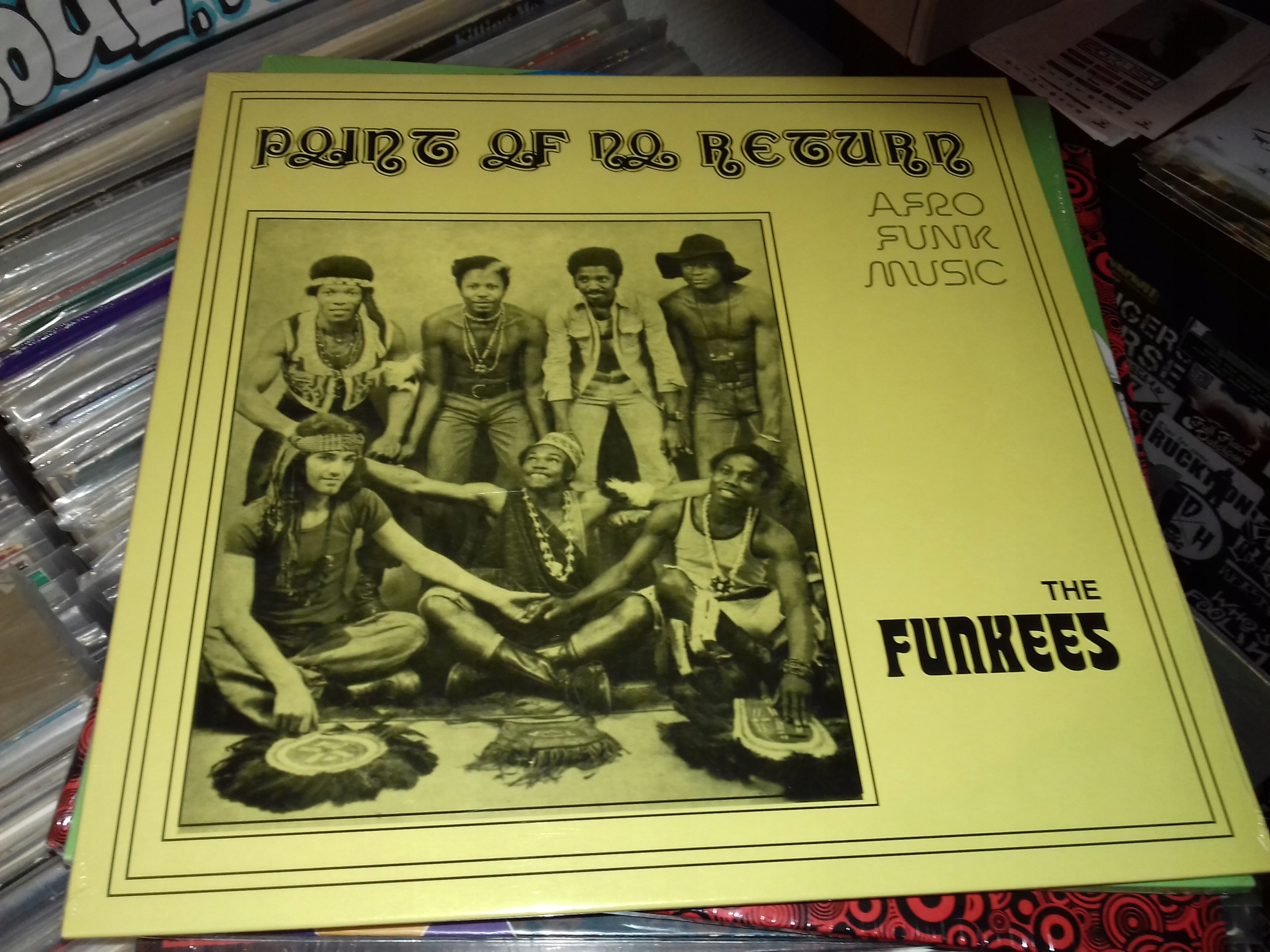 THE FUNKEES POINT OF NO RETURN LP AFRO FUNK