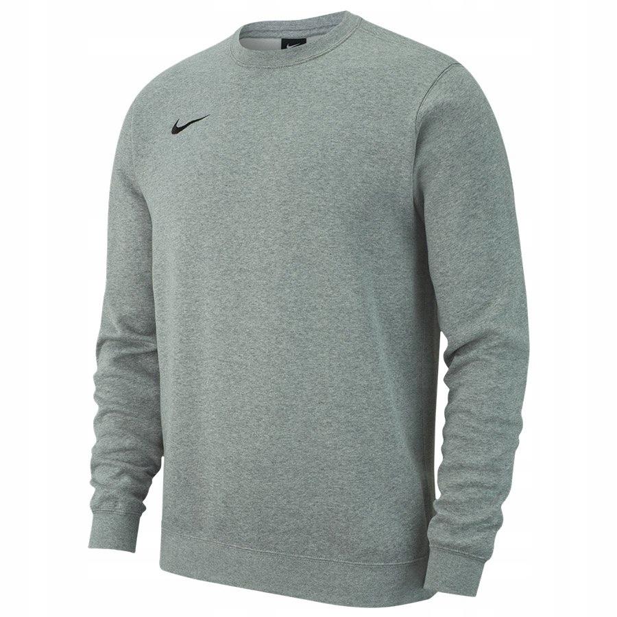 Bluza Nike Crew FLC TM Club 19 AJ1466 063 szary XL
