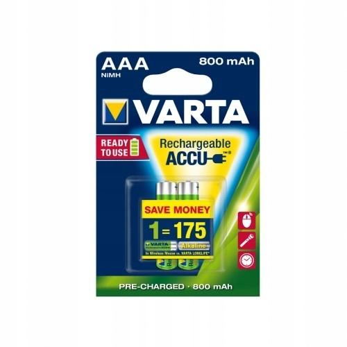 VARTA Akumulatory R3 800 mAh 2szt. ready 2 use