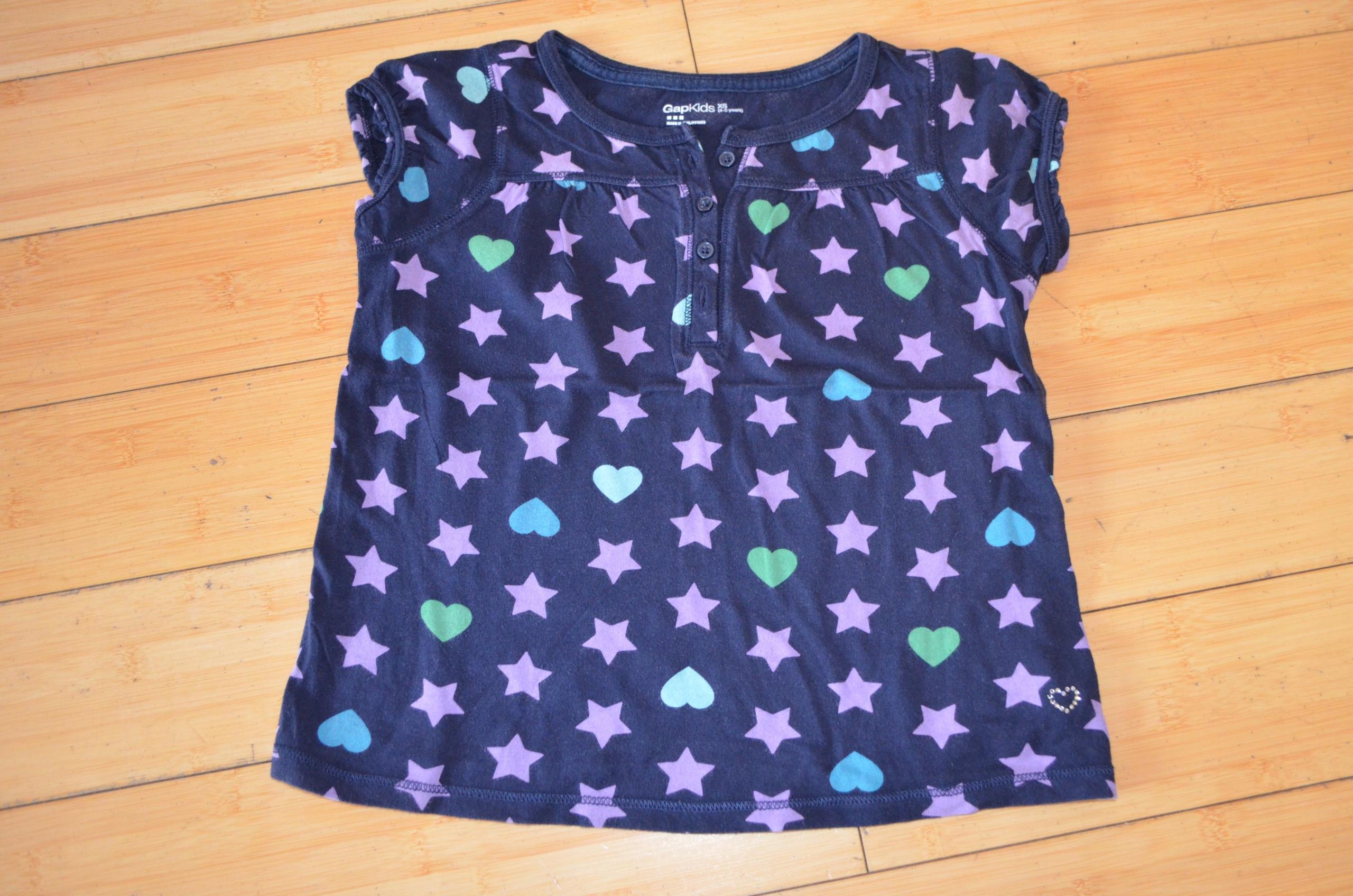 Koszulka Bluzka GAP XS /4-5 lat/ 104-110