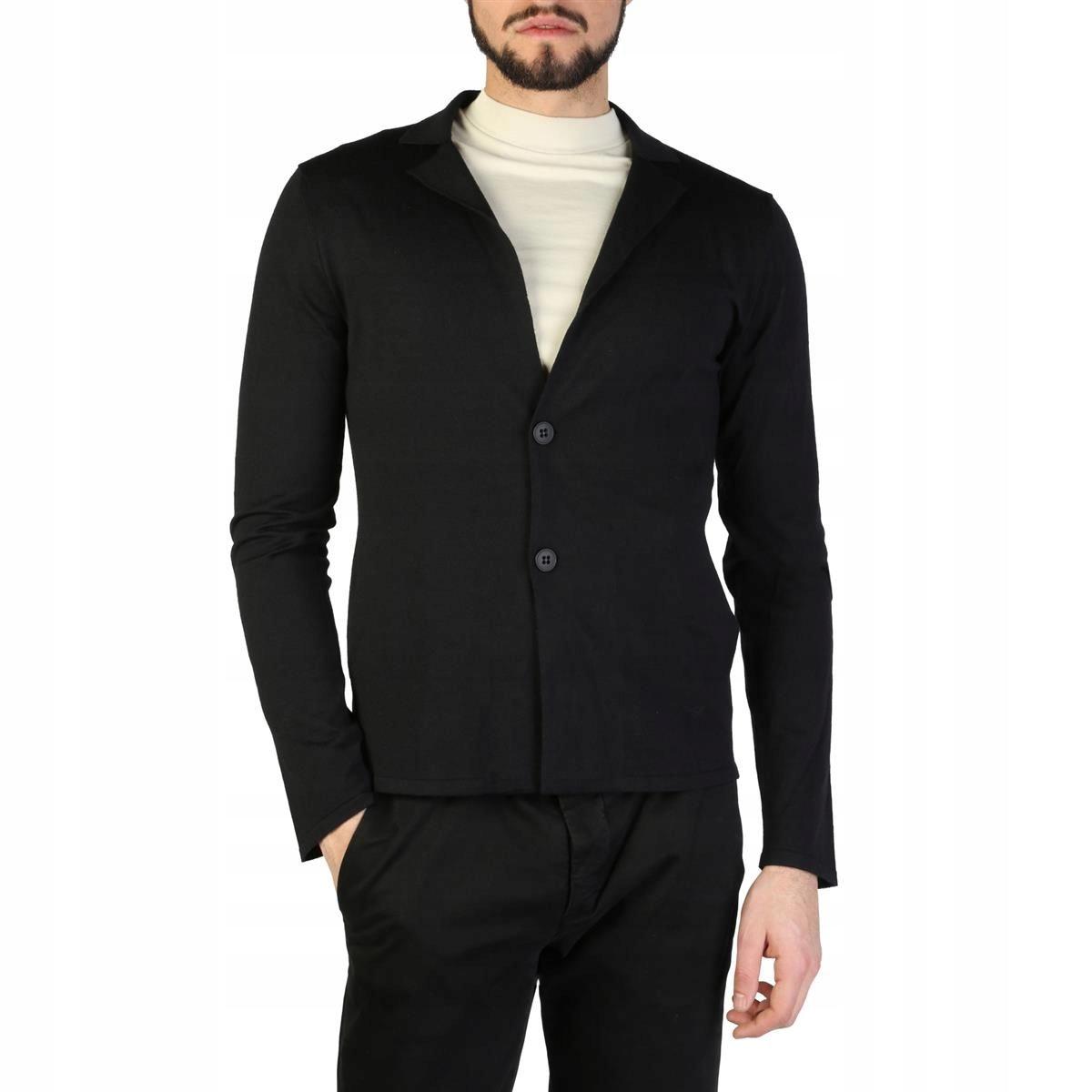 Emporio Armani męski sweter czarny 50