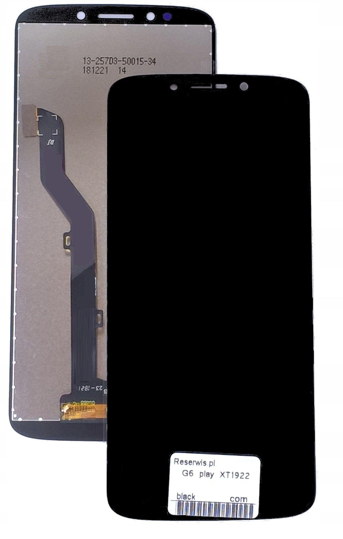 Wyświetlacz Digitizer Dotyk Moto G6 Play XT1922