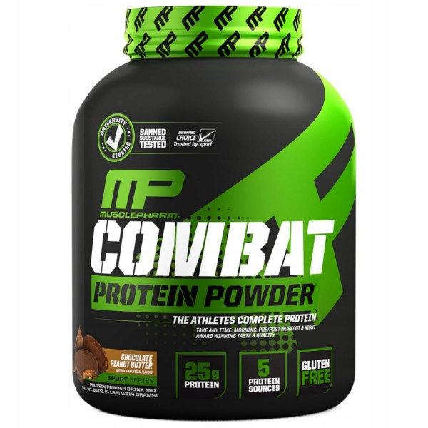 MUSCLEPHARM COMBAT XXL MASS GAINER 2,27 kg MASA