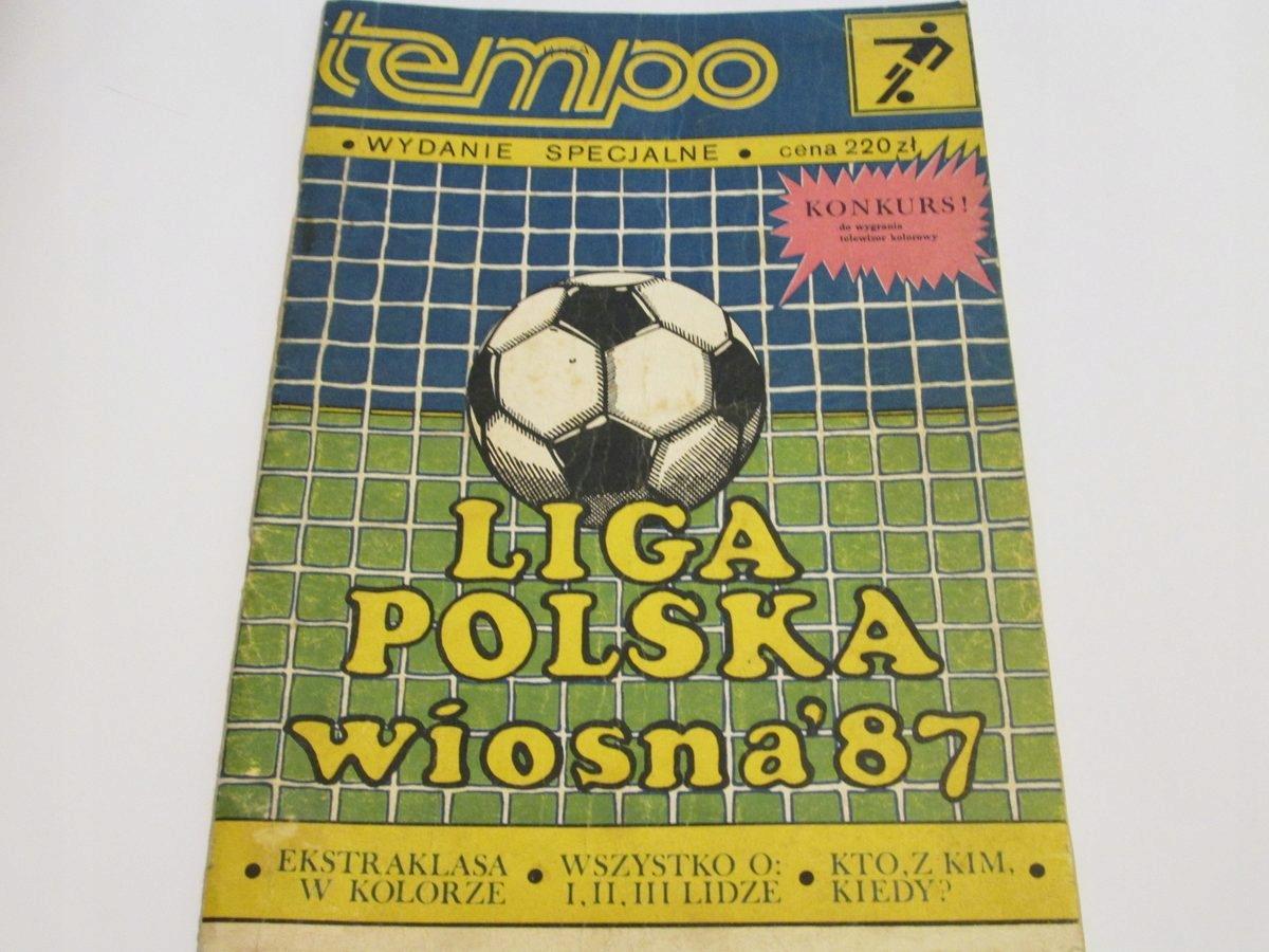 TEMPO WYDANIE SPECJALNE LIGA POLSKA WIOSNA '87