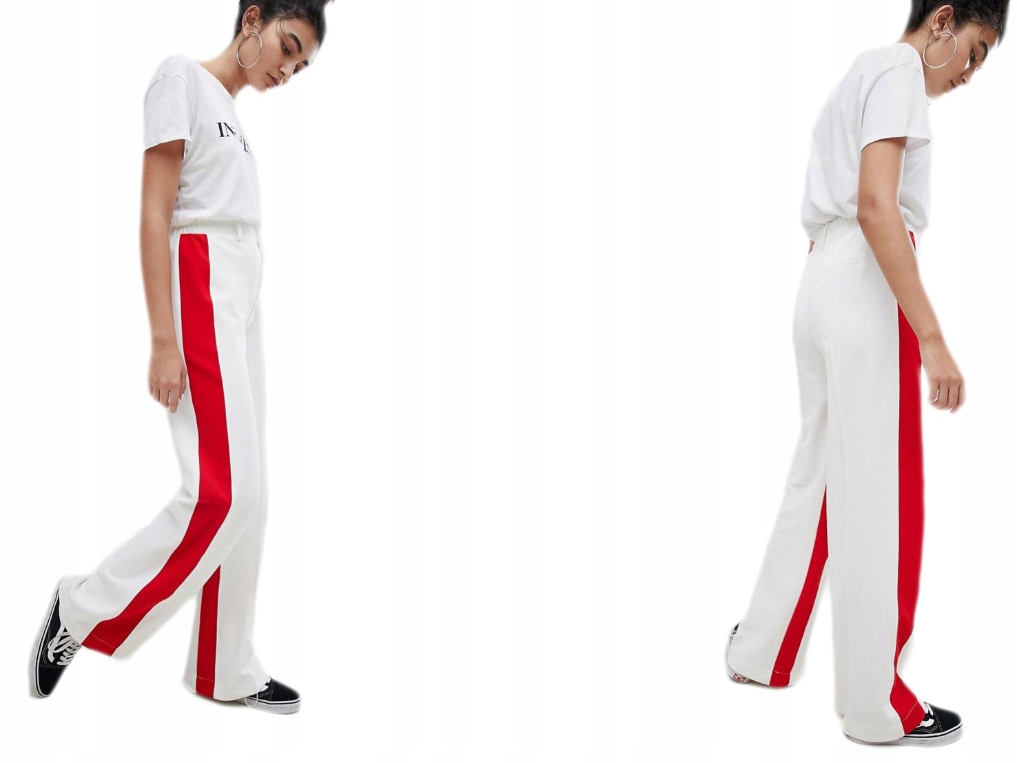 Spodnie Na Gumce Dzwony S