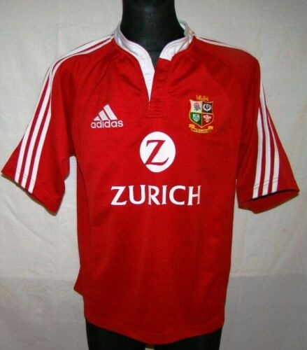 KOSZULKA BRITISH IRISH THE LIONS RUGBY ADIDAS 2005