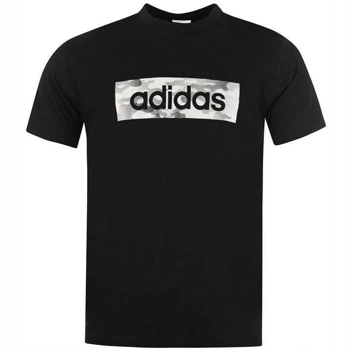 Adidas Lin Camo Box Koszulka chłopięca 140 cm