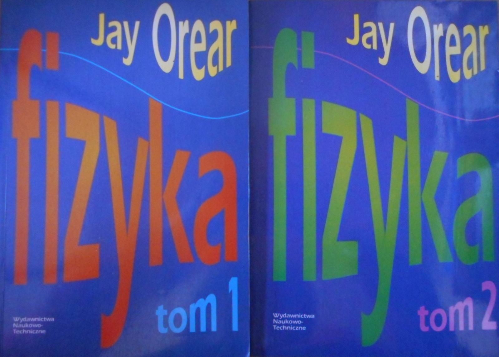 Fizyka tom 1 i 2 komplet Jay Orear