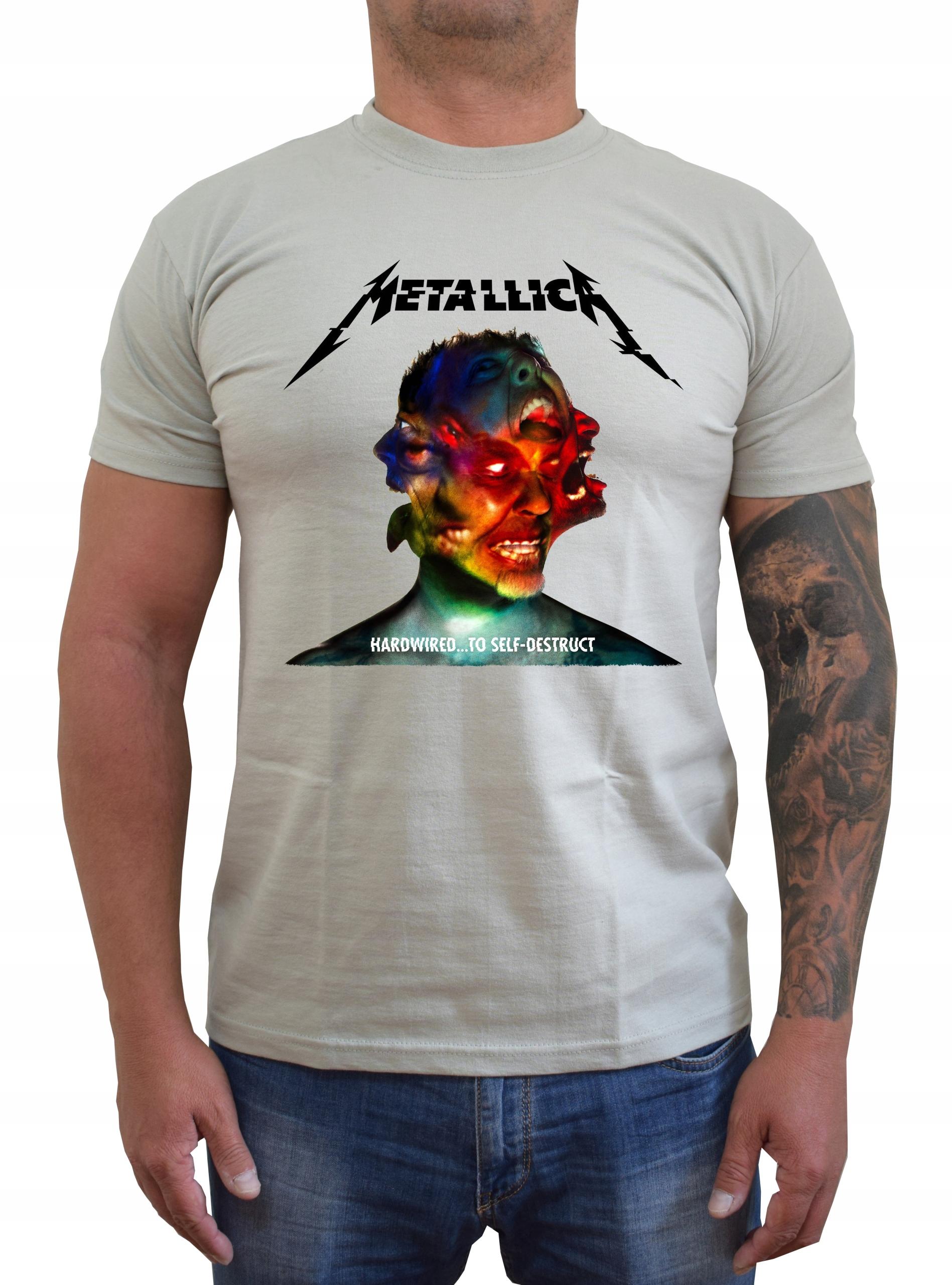 Koszulka T-Shirt Metallica Hardwired 1