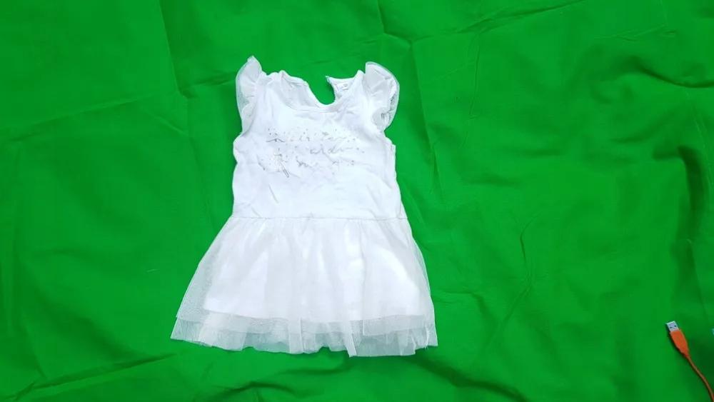 Biała Sukienka dziecko rozm 92 PEPCO