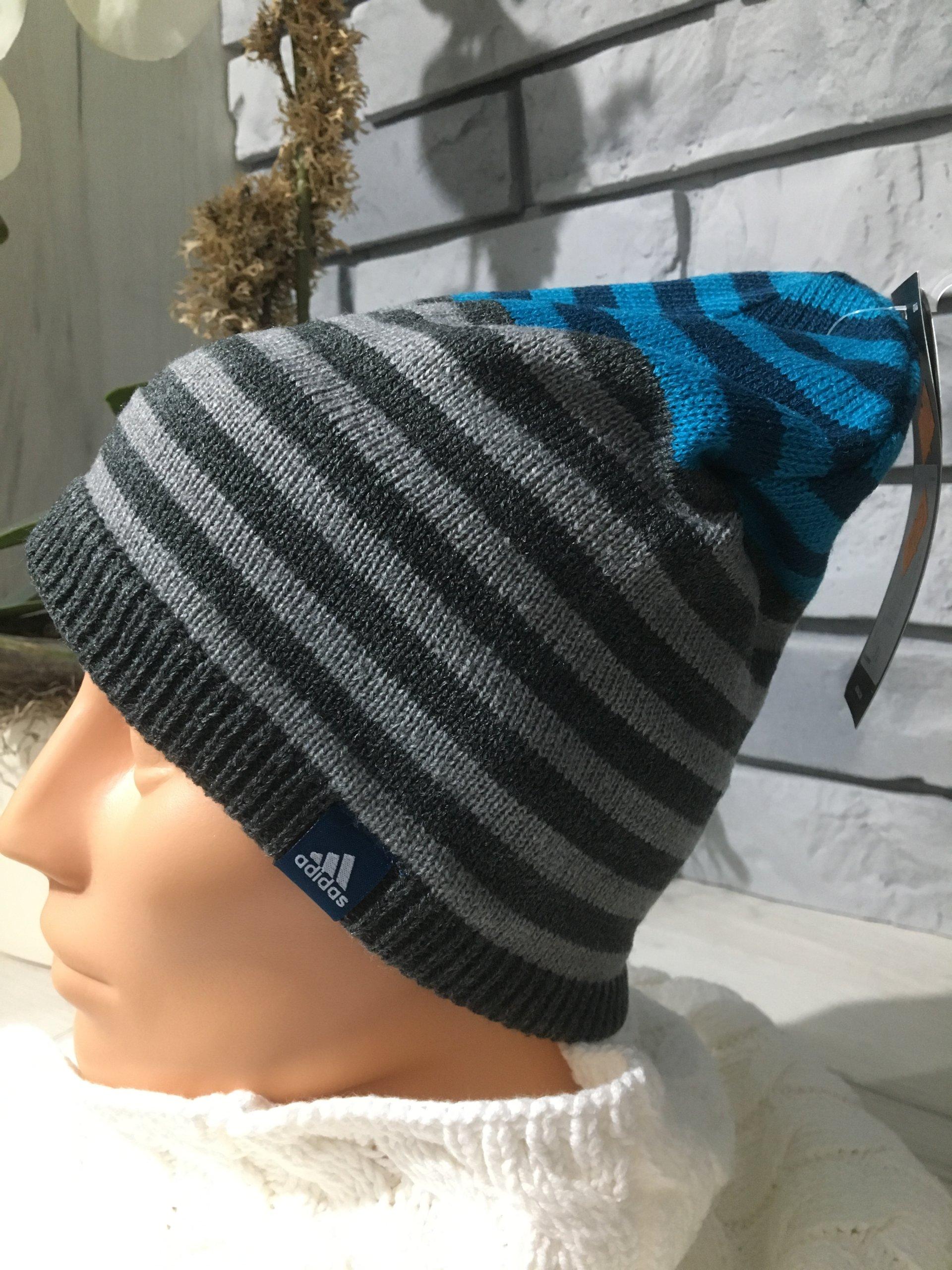 Adidas czapka Stripy Beanie CD2932