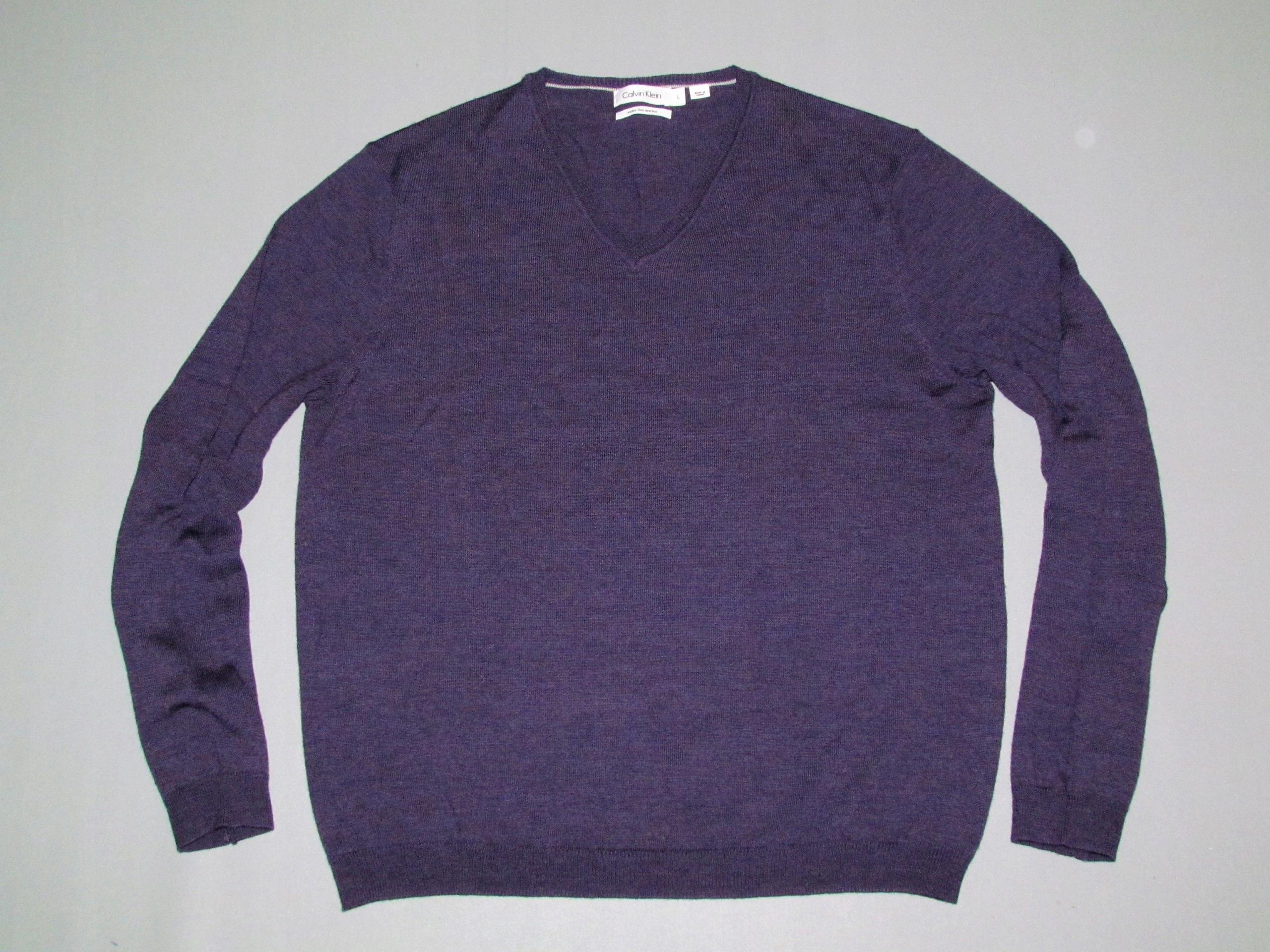 Sweter Calvin Klein Merino Wool roz.L