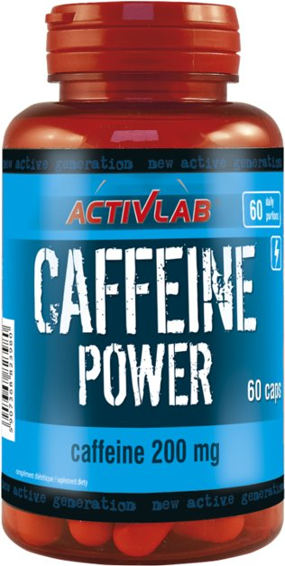 ACTIVLAB CAFFEINE POWER 60KAP SUPER POBUDZENIE MOC