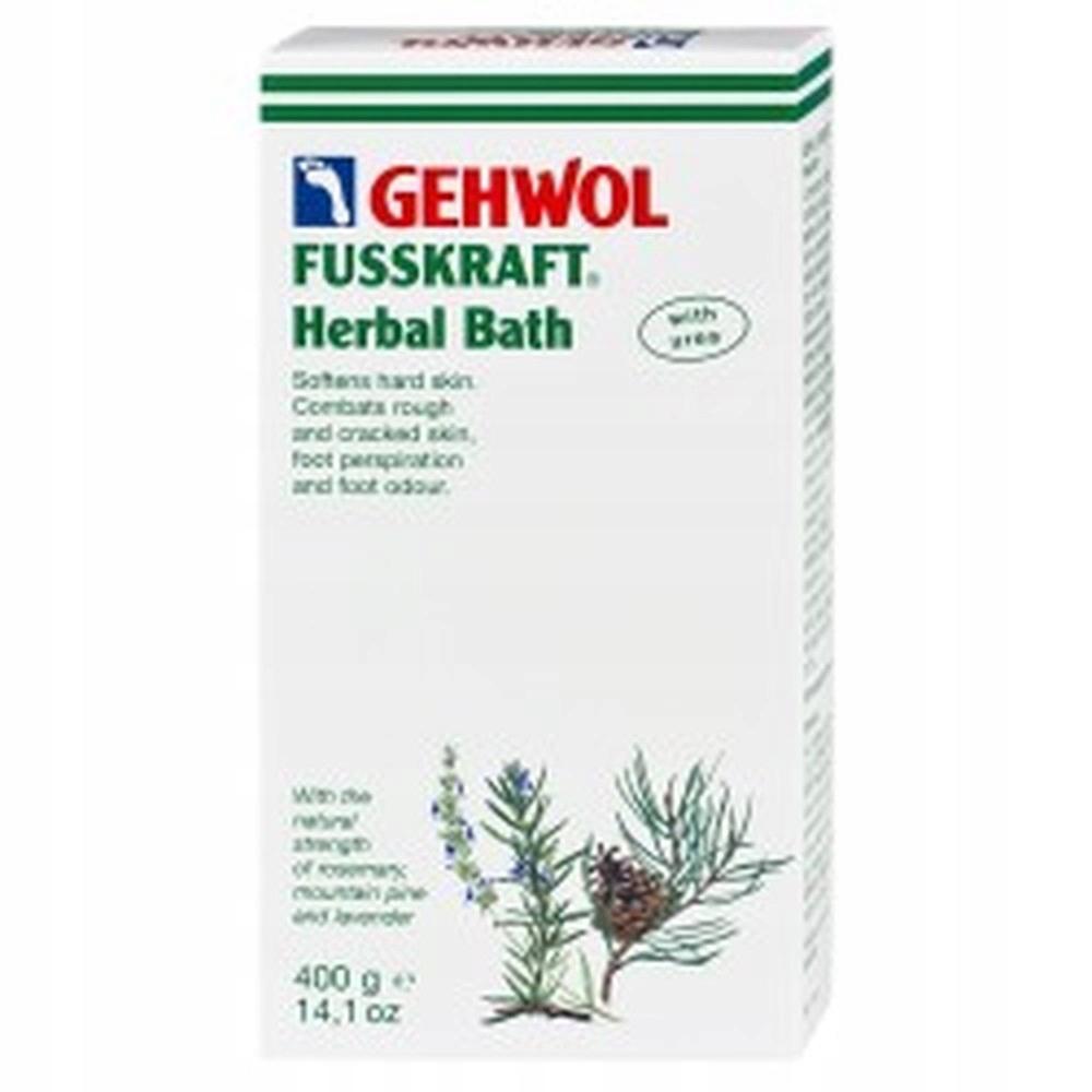 Sól do kąpieli stóp GEHWOL ziołowa 400 g