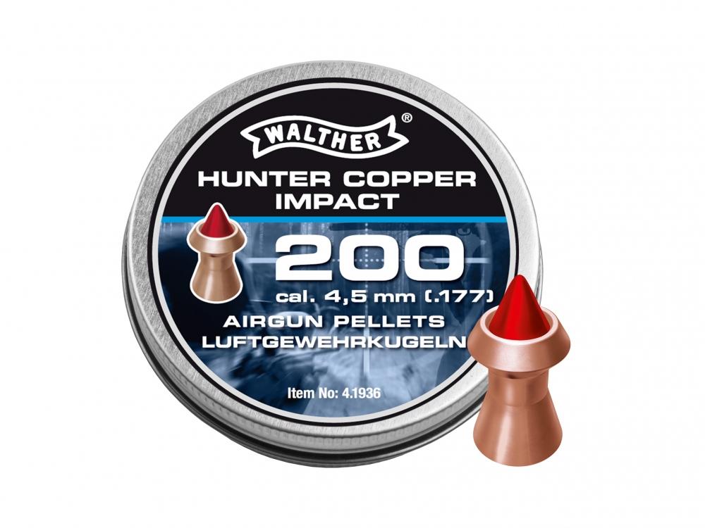 Śrut diabolo Walther Hunter Copper Impact 4,5 mm