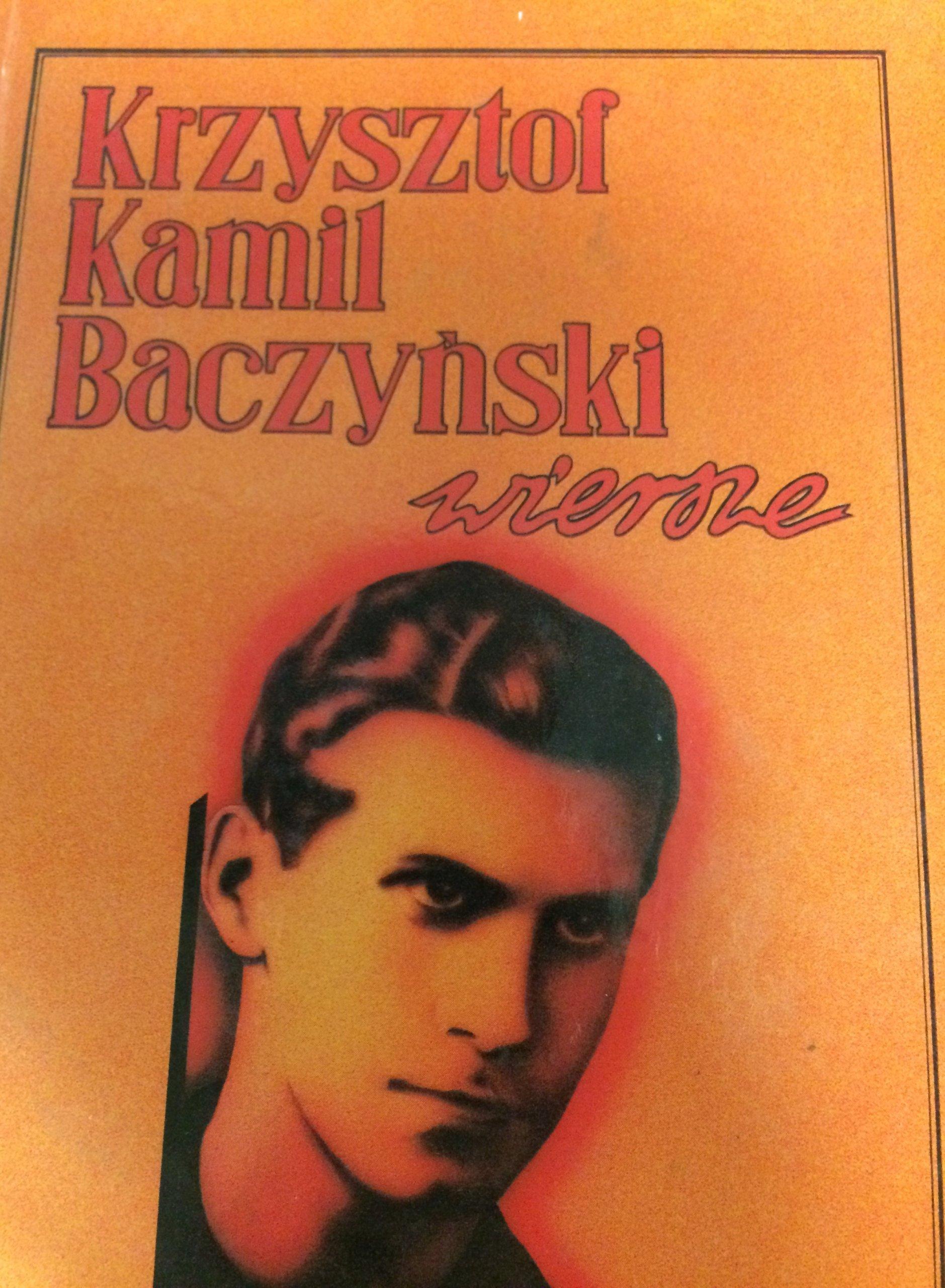 Wiersze Baczyński 16 7359625605 Oficjalne Archiwum Allegro